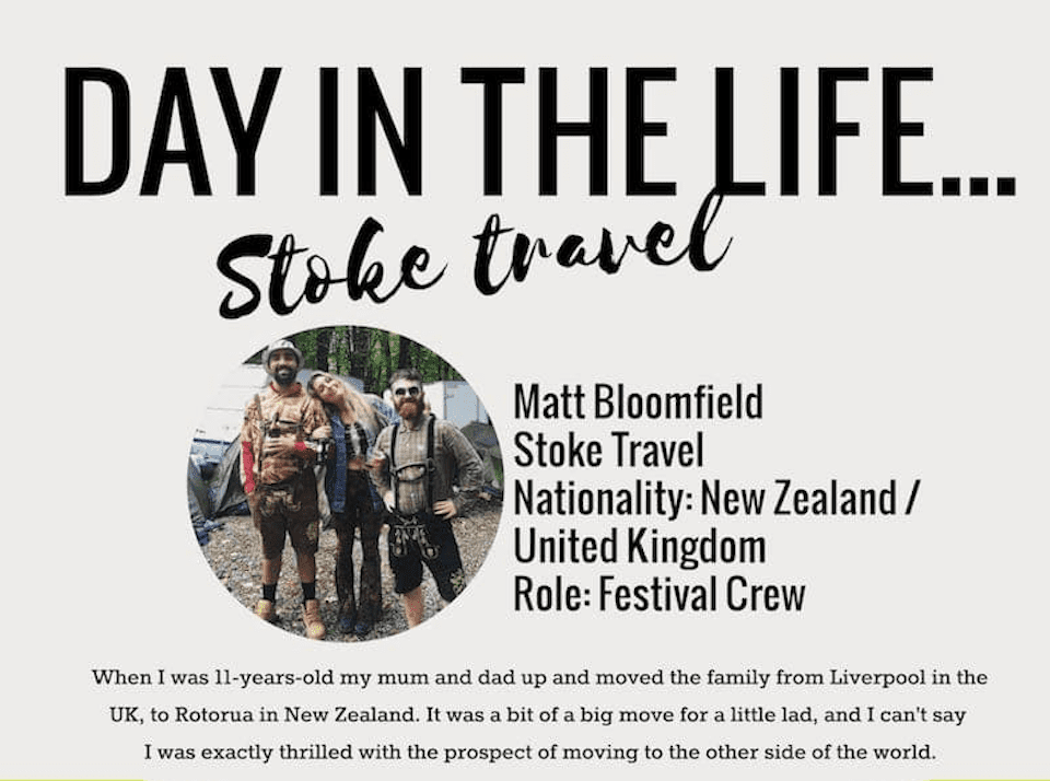 Day In The Life… Matt Bloomfield